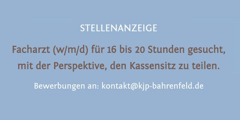 stellenanzeige-facharzt-kjp-bahrenfeld-dr-claudia-berner-hamburg